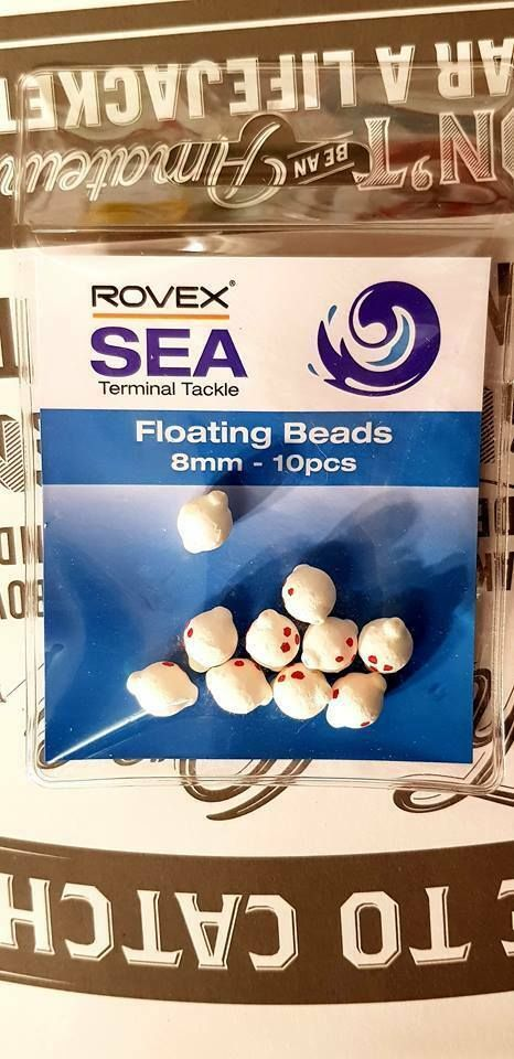 Rovex 8mm floating  beads... 10 per pack...